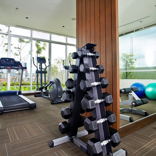 Gym Jasmine Resort Hotel Bangkok
